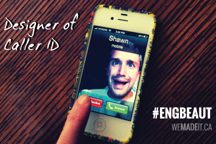 Designer of Caller ID: ENGBEAUT