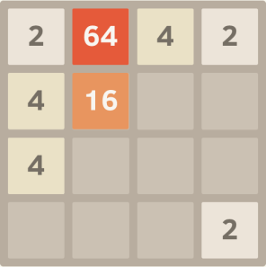 2048 Screen Shot
