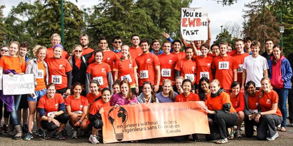 Engineers Without Borders Run