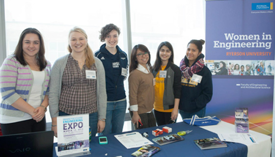 Ryerson Women in Engineering team