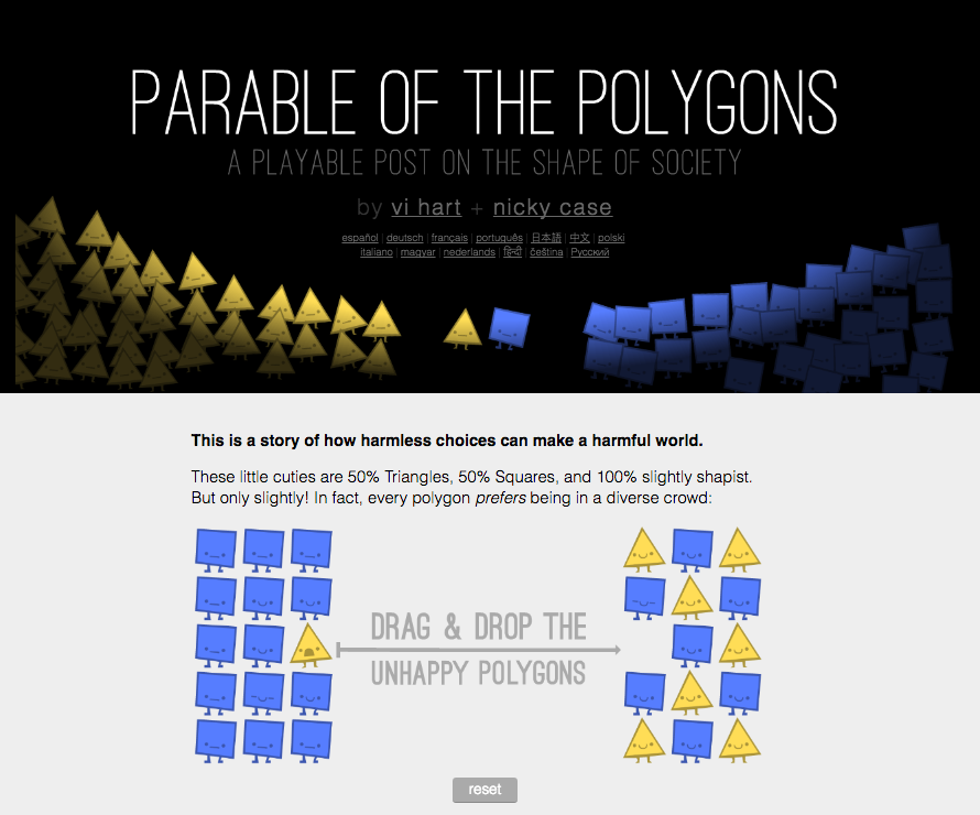 Image of the Polygons game