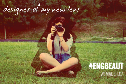 designer of my new lens: #ENGBEAUT