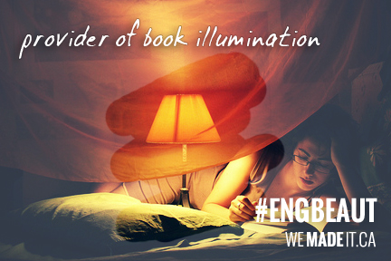 Reading Light = WIN