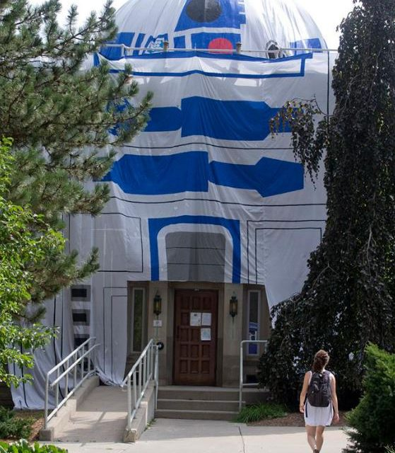 Cronyn Observatory R2-D2