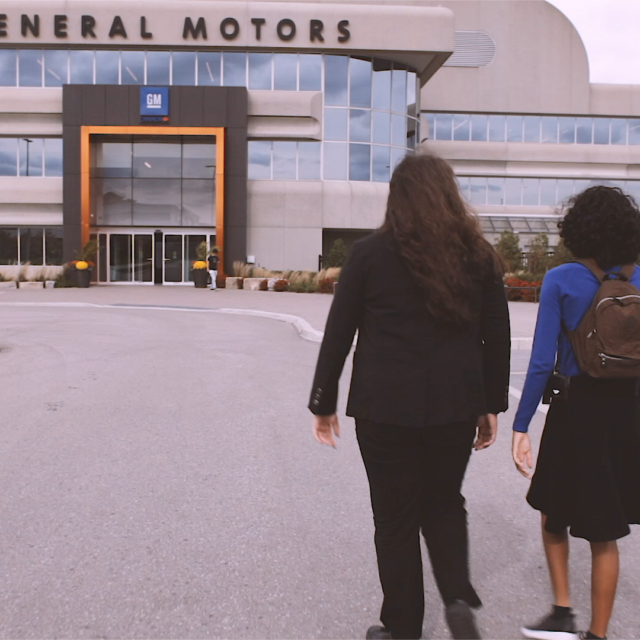 The Field Trip: Raquel and Charlene Visit GM