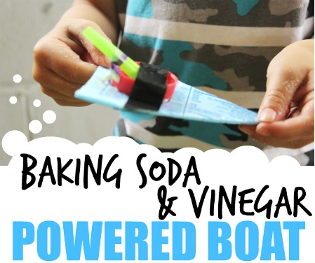 How To: Build a Baking Soda and Vinegar Powered Boat