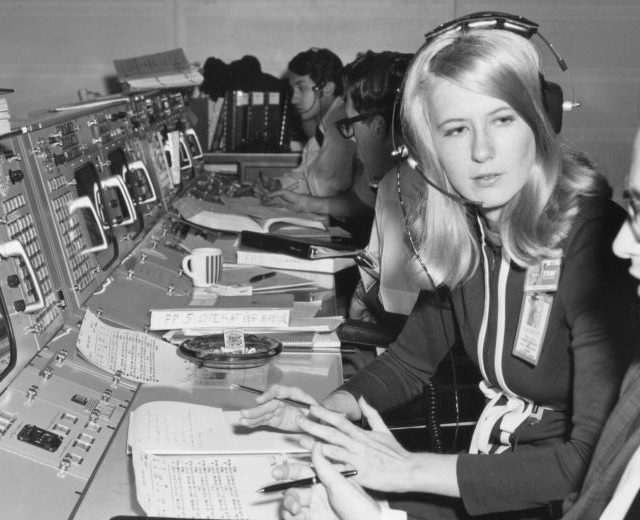 Words From the First Woman in NASA's Mission Control Centre